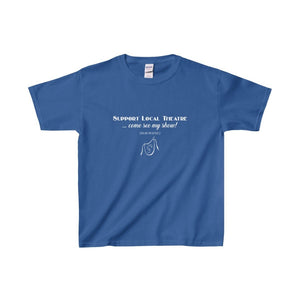 Organization (Mcyt) - Support Local Theatre - Youth Heavy Cotton Tee Royal / Xs Kids Clothes