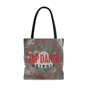 Organization (TDD) - Tap Dance Detroit Logo Pattern Tote Bag Large Bags