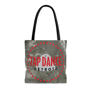 Organization (TDD) - Tap Dance Detroit Logo Pattern Tote Bag Medium Bags