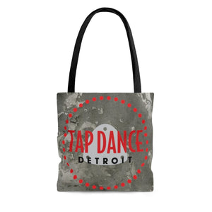 Organization (TDD) - Tap Dance Detroit Logo Pattern Tote Bag Small Bags