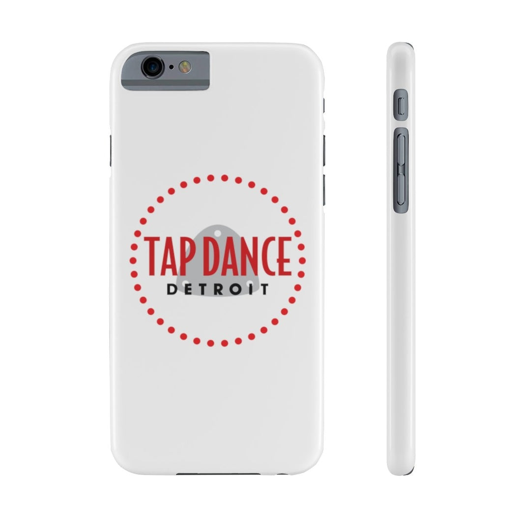 Organization (TDD) - Tap Dance Detroit Logo Slim Phone Cases iPhone 6/6S Slim Phone Case