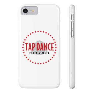 Organization (TDD) - Tap Dance Detroit Logo Slim Phone Cases iPhone 7 iPhone 8 Slim Phone Case