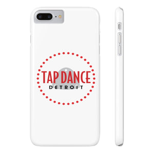 Organization (TDD) - Tap Dance Detroit Logo Slim Phone Cases iPhone 7 Plus iPhone 8 Plus Slim Phone Case