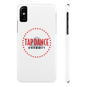 Organization (TDD) - Tap Dance Detroit Logo Slim Phone Cases iPhone X Slim Phone Case