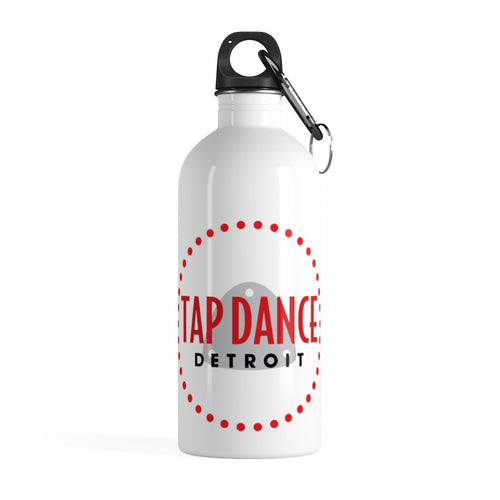 Organization (TDD) - Tap Dance Detroit Logo Stainless Steel Water Bottle 14oz Mug