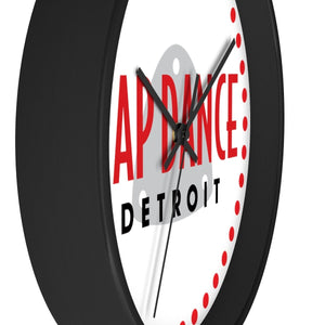 Organization (TDD) - Tap Dance Detroit Logo Wall Clock Home Decor