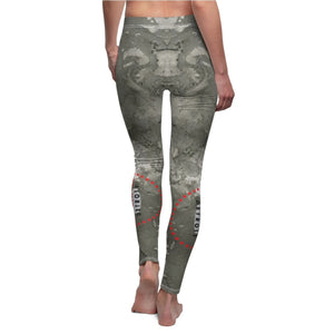Organization (TDD) - Tap Dance Detroit Logo Womens Casual Leggings Women All Over Prints