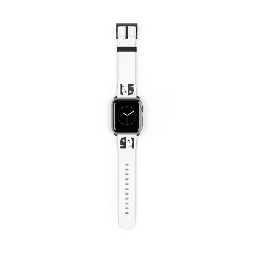 Organization (TFP) - The Farmington Players Barn Back Logo Watch Band 38 mm / Black Matte Accessories