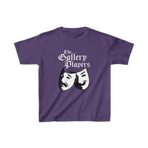 Organization (Tgp) - The Gallery Players - Youth Heavy Cotton Tee Purple / Xs Kids Kids Clothes