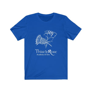 Organization (TRAA) - Thistle Rose Academy Arts Logo Unisex Jersey Short Sleeve Tee True Royal / XS Men Women T-Shirt