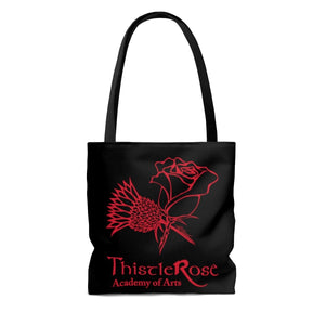 Organization (TRAA) - Thistle Rose Academy of Arts Dracula Black Tote Bag Bags