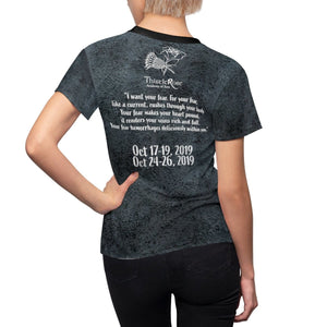 Organization (TRAA) - Thistle Rose Academy of Arts Dracula Black Womens Tee Women All Over Prints