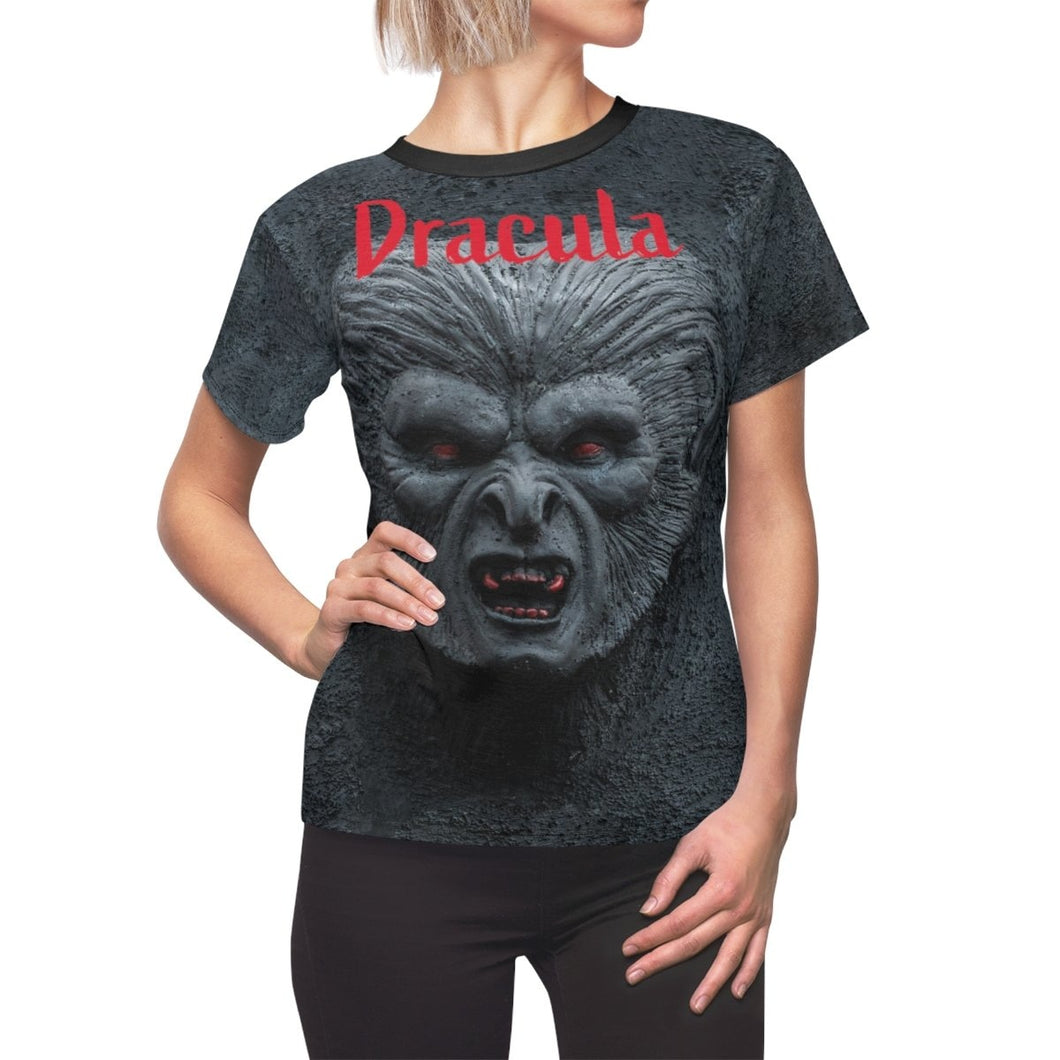 Organization (TRAA) - Thistle Rose Academy of Arts Dracula Black Womens Tee L / Black Seams / 4 oz. Women All Over Prints