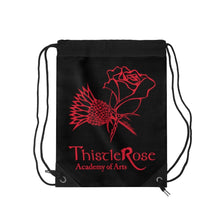 Organization (TRAA) - Thistle Rose Academy of Arts Dracula Drawstring Bag Bags