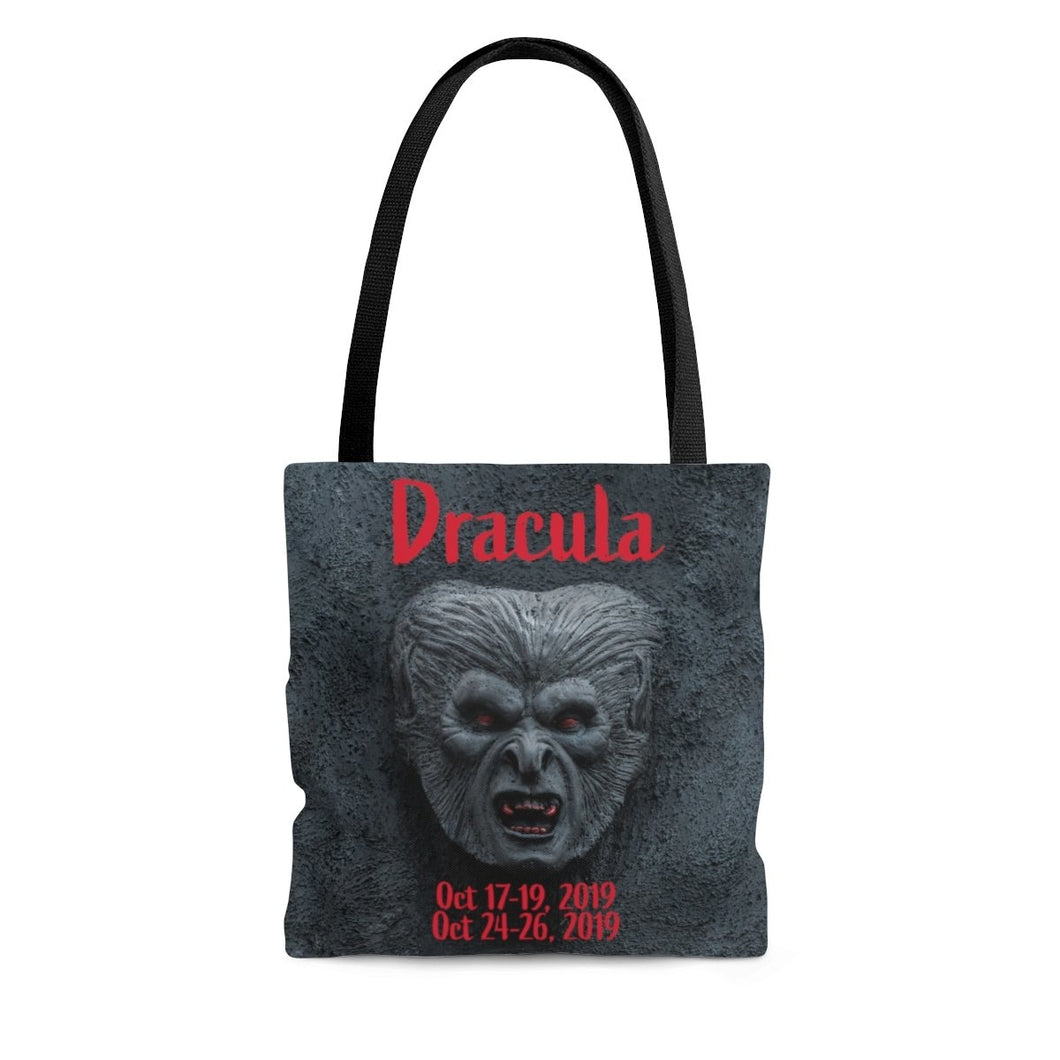 Organization (TRAA) - Thistle Rose Academy of Arts Dracula Tote Bag Large Bags