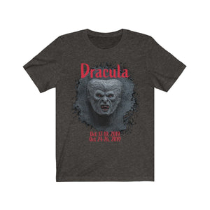 Organization (TRAA) - Thistle Rose Academy of Arts Dracula Unisex Jersey Short Sleeve Tee Black Heather / L Men Women T-Shirt