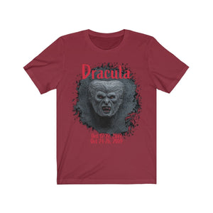 Organization (TRAA) - Thistle Rose Academy of Arts Dracula Unisex Jersey Short Sleeve Tee Cardinal / XS Men Women T-Shirt