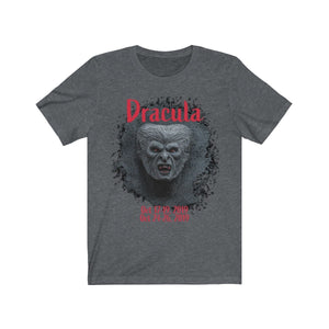 Organization (TRAA) - Thistle Rose Academy of Arts Dracula Unisex Jersey Short Sleeve Tee Dark Grey Heather / XS Men Women T-Shirt