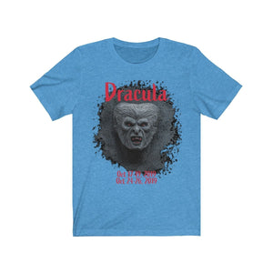 Organization (TRAA) - Thistle Rose Academy of Arts Dracula Unisex Jersey Short Sleeve Tee Heather Columbia Blue / XS Men Women T-Shirt