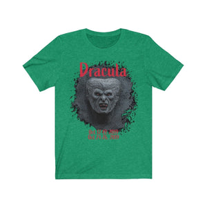 Organization (TRAA) - Thistle Rose Academy of Arts Dracula Unisex Jersey Short Sleeve Tee Heather Kelly / XS Men Women T-Shirt