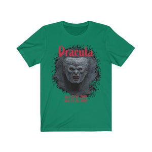 Organization (TRAA) - Thistle Rose Academy of Arts Dracula Unisex Jersey Short Sleeve Tee Kelly / XS Men Women T-Shirt