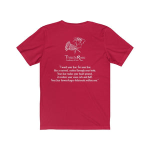 Organization (TRAA) - Thistle Rose Academy of Arts Dracula Unisex Jersey Short Sleeve Tee Men Women T-Shirt
