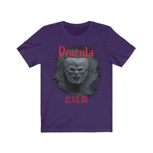 Organization (TRAA) - Thistle Rose Academy of Arts Dracula Unisex Jersey Short Sleeve Tee Team Purple / XS Men Women T-Shirt