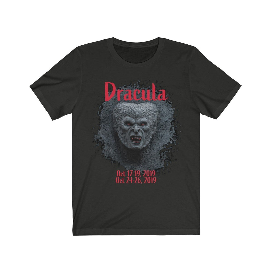 Organization (TRAA) - Thistle Rose Academy of Arts Dracula Unisex Jersey Short Sleeve Tee Vintage Black / XS Men Women T-Shirt