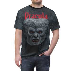 Organization (TRAA) - Thistle Rose Academy of Arts Dracula Unisex Tee 4 oz. / Black Seams / L Men Women All Over Prints