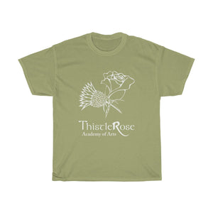 Organization (TRAA) - Thistle Rose Academy of Arts Logo Unisex Heavy Cotton Tee Kiwi / S Men Women T-Shirt