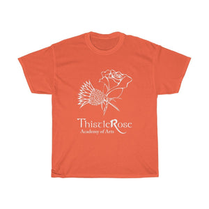 Organization (TRAA) - Thistle Rose Academy of Arts Logo Unisex Heavy Cotton Tee Orange / S Men Women T-Shirt
