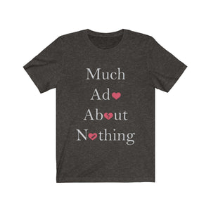 Organization (TRAA) - Thistle Rose Academy of Arts Much Ado About Nothing Cast Unisex Jersey Short Sleeve Tee Black Heather / XS Men Women