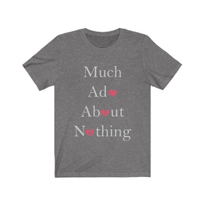 Organization (TRAA) - Thistle Rose Academy of Arts Much Ado About Nothing Cast Unisex Jersey Short Sleeve Tee Deep Heather / XS Men Women