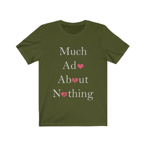 Organization (TRAA) - Thistle Rose Academy of Arts Much Ado About Nothing Cast Unisex Jersey Short Sleeve Tee Olive / XS Men Women T-Shirt