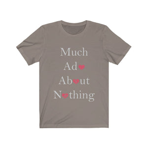 Organization (TRAA) - Thistle Rose Academy of Arts Much Ado About Nothing Cast Unisex Jersey Short Sleeve Tee Pebble Brown / XS Men Women