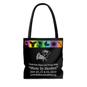 Organization (TRAA) - Thistle Rose Academy of Arts Music by Menken Tote Bag Bags