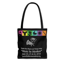 Organization (TRAA) - Thistle Rose Academy of Arts Music by Menken Tote Bag Large Bags