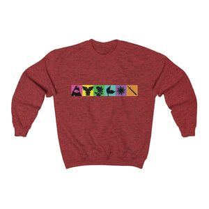 Organization (TRAA) - Thistle Rose Academy of Arts Music by Menken Unisex Heavy Blend Crewneck Sweatshirt Antique Cherry Red / S Men Women