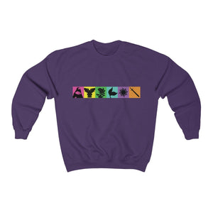 Organization (TRAA) - Thistle Rose Academy of Arts Music by Menken Unisex Heavy Blend Crewneck Sweatshirt Purple / S Men Women Sweatshirt