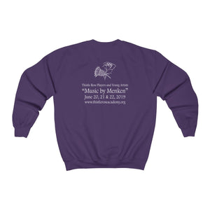 Organization (TRAA) - Thistle Rose Academy of Arts Music by Menken Unisex Heavy Blend Crewneck Sweatshirt Men Women Sweatshirt