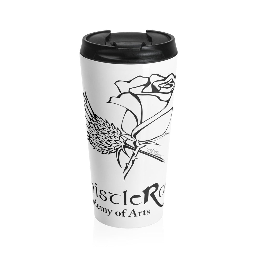 Organization (TRAA) - Thistle Rose Academy of Arts Stainless Steel Travel Mug Travel Mug Mug