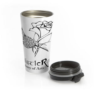 Organization (TRAA) - Thistle Rose Academy of Arts Stainless Steel Travel Mug Mug