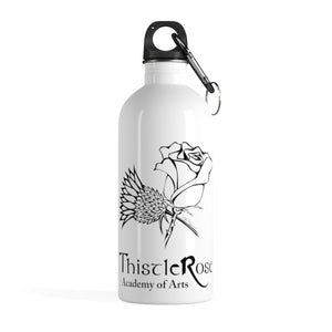 Organization (TRAA) - Thistle Rose Academy of Arts Stainless Steel Water Bottle 14oz Mug