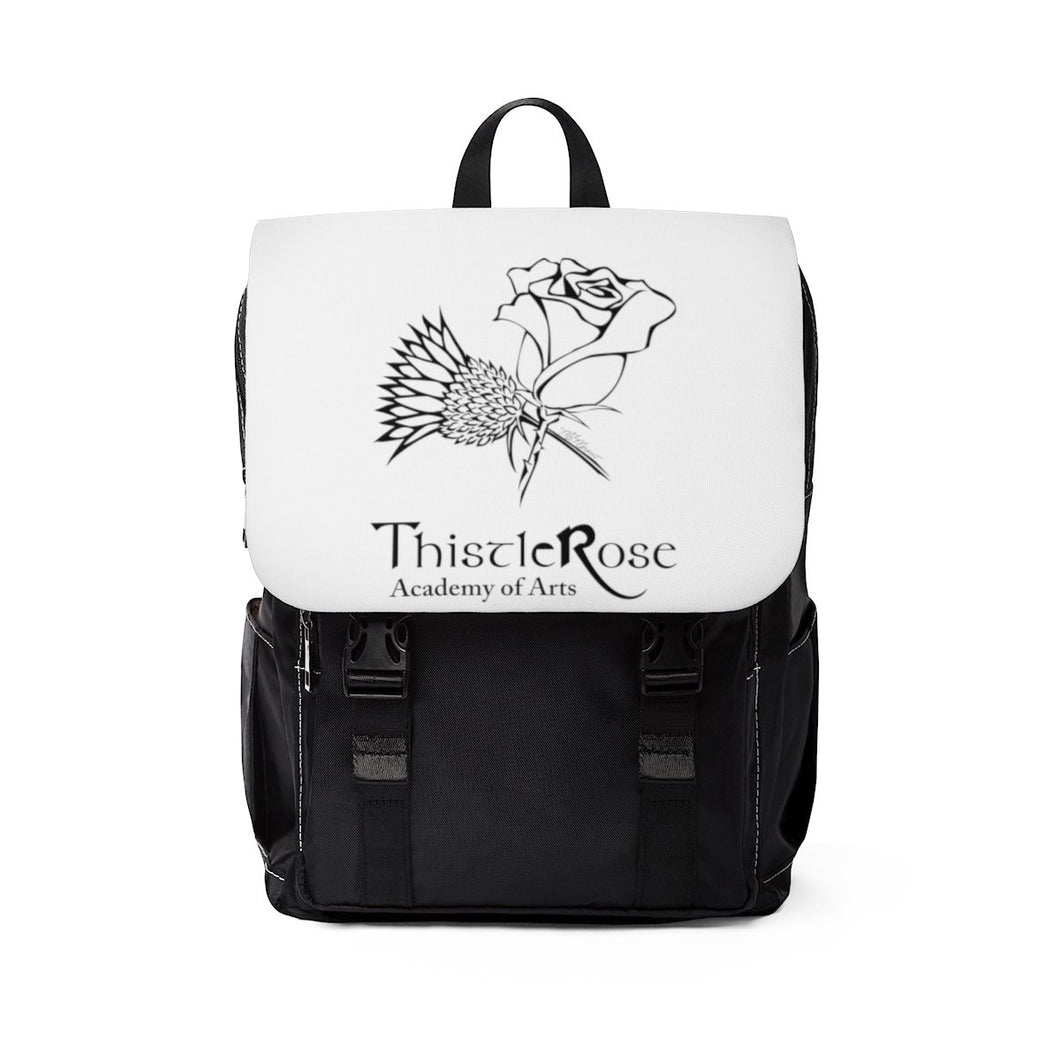 Organization (TRAA) - Thistle Rose Academy of Arts Unisex Casual Shoulder Backpack One Size Bags