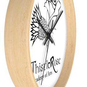 Organization (TRAA) - Thistle Rose Academy of Arts Wall Clock Home Decor