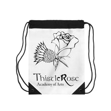 Organization (TRAA) - Thistle Rose Academy of Arts White Drawstring Bag One Size Bags