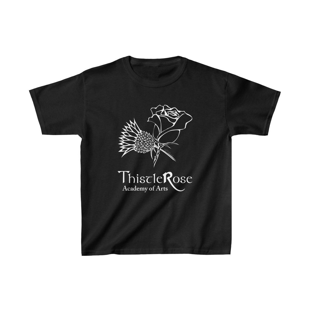 Organization (TRAA) - Thistle Rose Academy of Arts Youth Heavy Cotton Tee Black / L Kids Kids clothes
