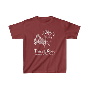 Organization (TRAA) - Thistle Rose Academy of Arts Youth Heavy Cotton Tee Cardinal Red / XS Kids Kids clothes