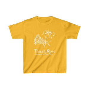 Organization (TRAA) - Thistle Rose Academy of Arts Youth Heavy Cotton Tee Gold / XS Kids Kids clothes