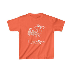 Organization (TRAA) - Thistle Rose Academy of Arts Youth Heavy Cotton Tee Orange / XS Kids Kids clothes